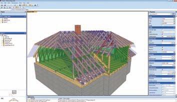 A Screenshot From Mitek S New Pamir Roof Truss Design